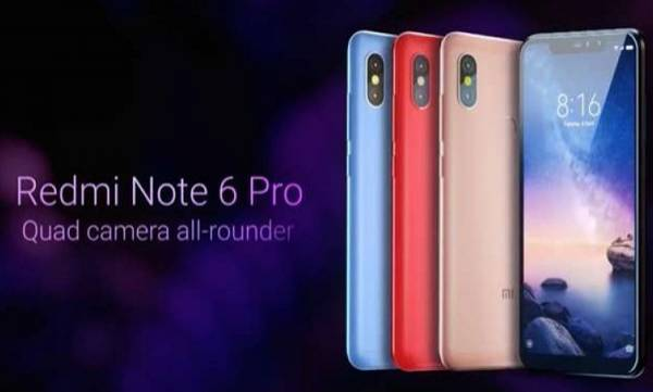 xiaomi redmi note 6 pro sells 6 lakh units in first sale