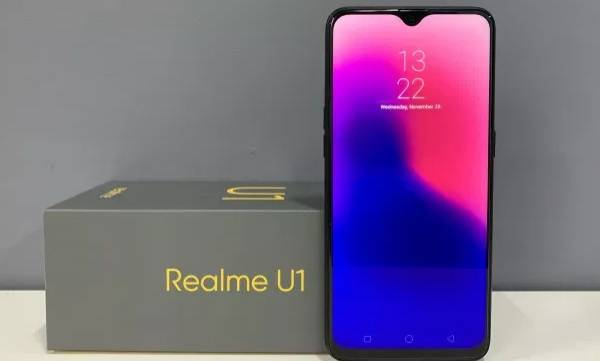 realme u1 smartphone launched