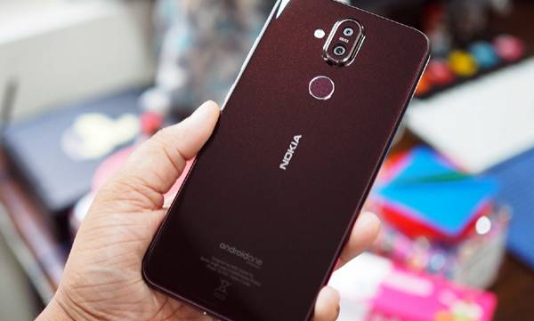 nokia 8.1 with android one and snapdragon 710