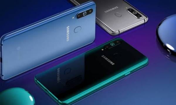 samsung galaxy a8s launched