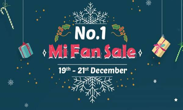 xiaomi announce mi fan sale
