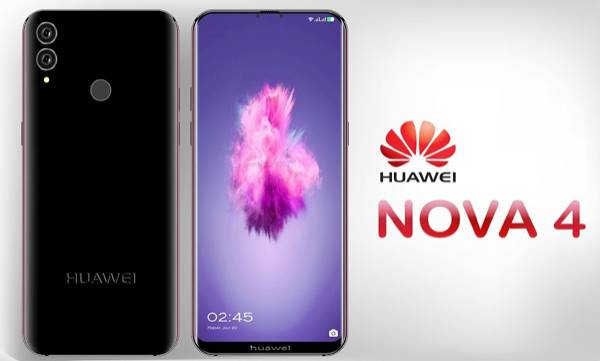 huawei nova4 with 48 megapixel rear camera