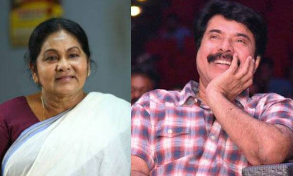 mammootty's acting