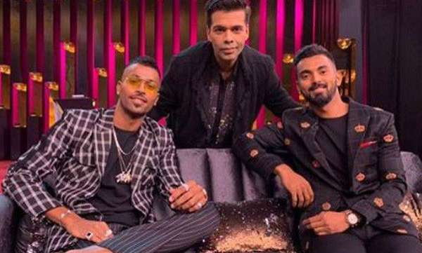 Hardik Pandya, KL Rahul  Koffee with Karan row