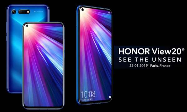 honor view 20 prebookings open in india