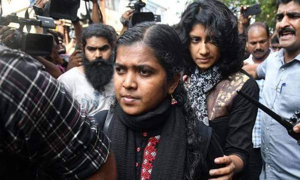women trying to enter sabrimala