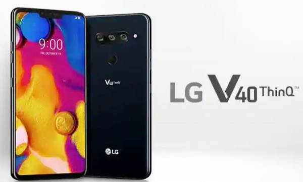 lg v40 thinq with five cameras