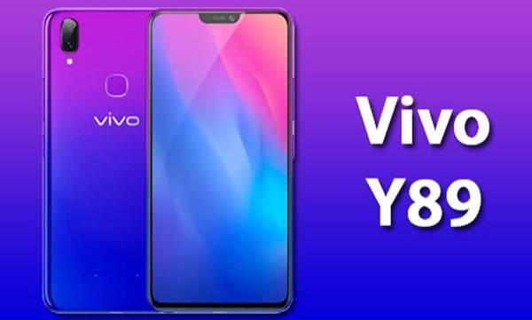 vivo y89 6.26 inch display