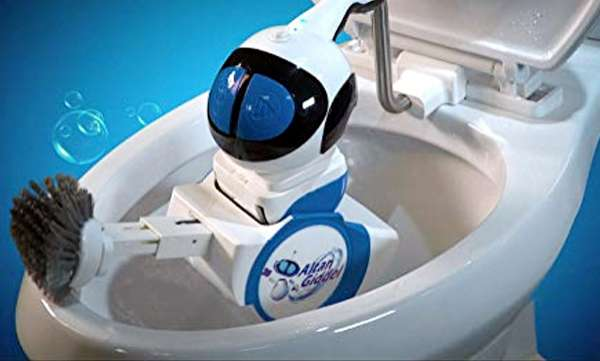 toilet cleaning robot sale in amazon for 500 dollars