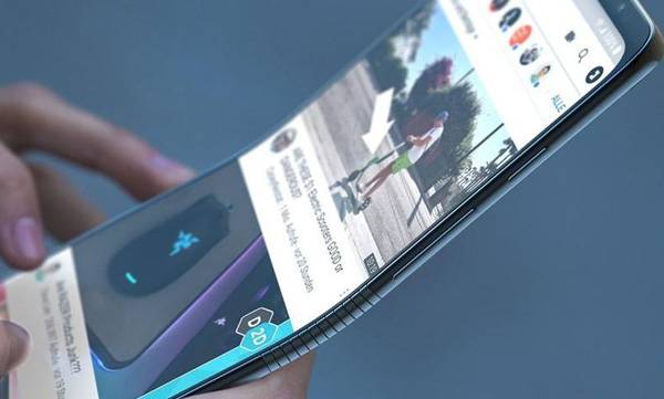 GalaxyF foldable phone