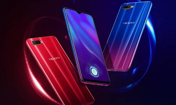 oppo k1 with in screeen fingerprint scanner launched in india