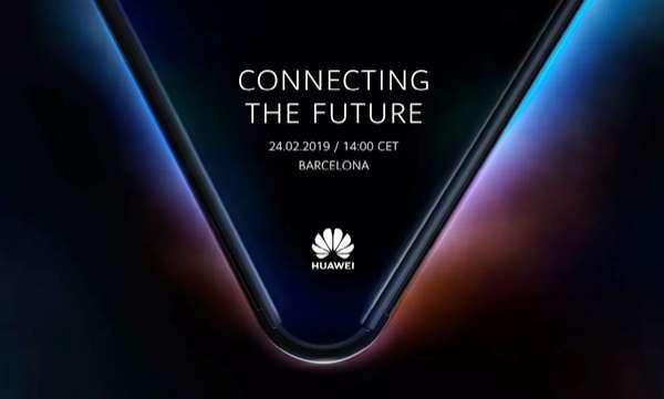 huawei launch 5g foldable phone