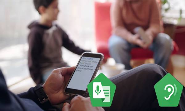 google live transcribe sound amplifier accessibility android deaf hard hearing