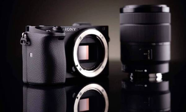 sony a6400 mirrorless camera with worlds fastest ai powered