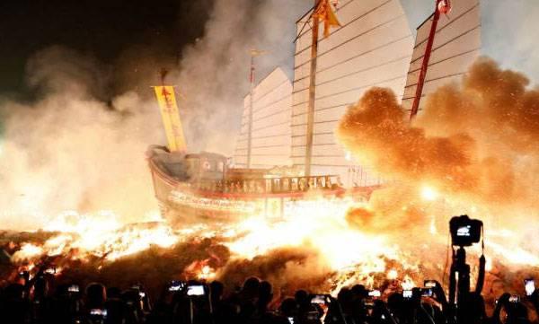 17 killed, Massive fire,