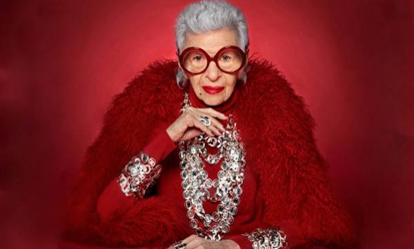 97-Year-Old,  Iris Apfel,  Modeling Contract