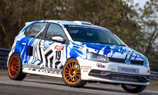 vw motorsport india reveals polo rx racer on 10th anniversary