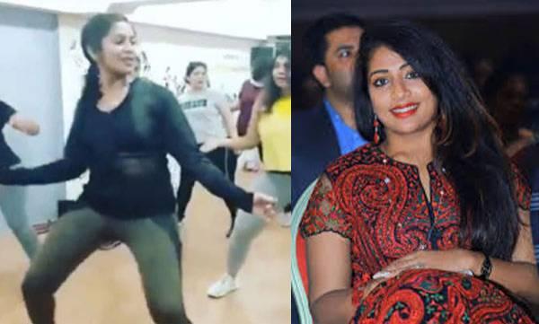 Navya nair, Zumba dance