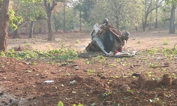 BJP MLA, Maoist attack