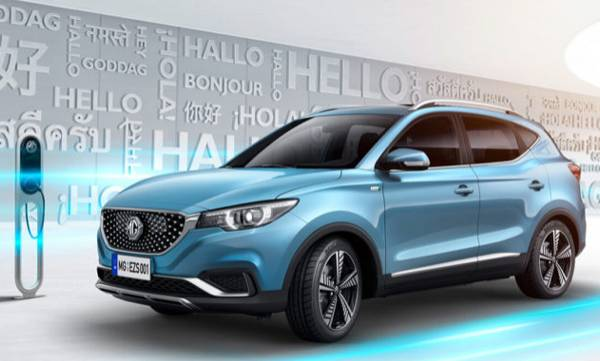 mg motor unveils india bound electric suv ezs to be launched in december 2019