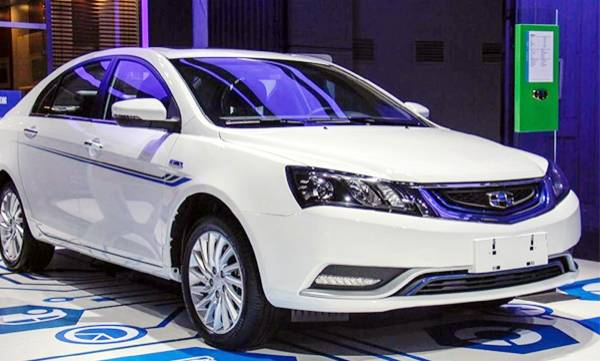 geely launches geometry ev