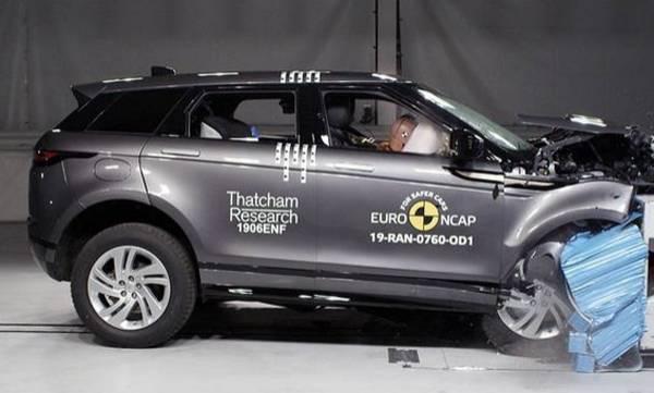 2019 range rover evoque secures 5 star euro ncap safety rating