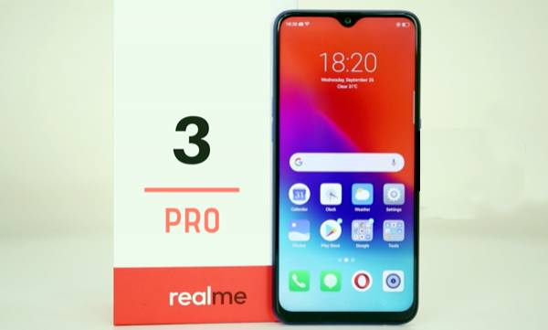realme 3 pro to launch
