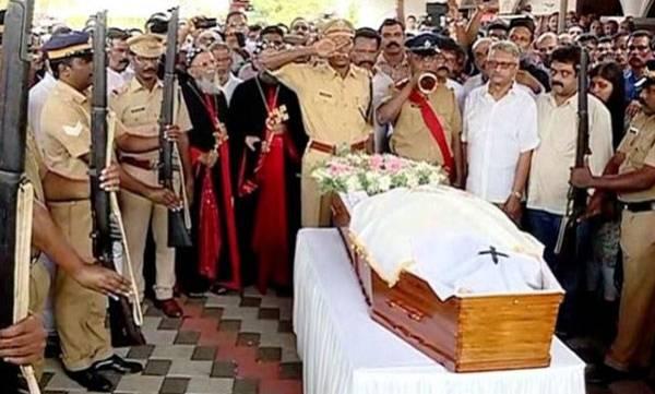 Dr.D.Babu paul, Funeral