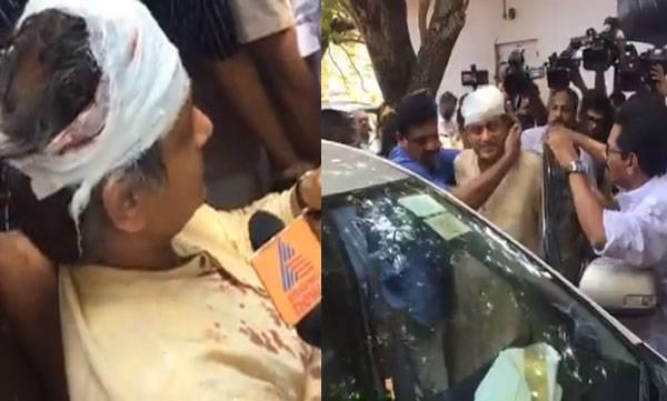 Shashi Tharoor, Injured , Tulabharam