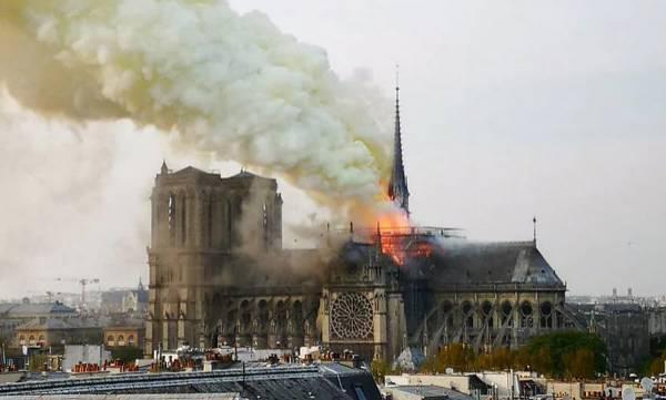 Fire, Notre Dame, Paris