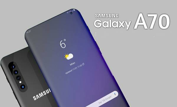 samsung galaxy a70 spotted listed on india site