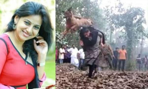Actress Anna Rajan, Adventure video