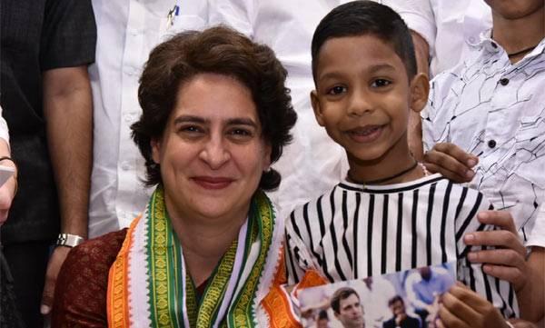 Priyanka Gandhi, Nathan Joice