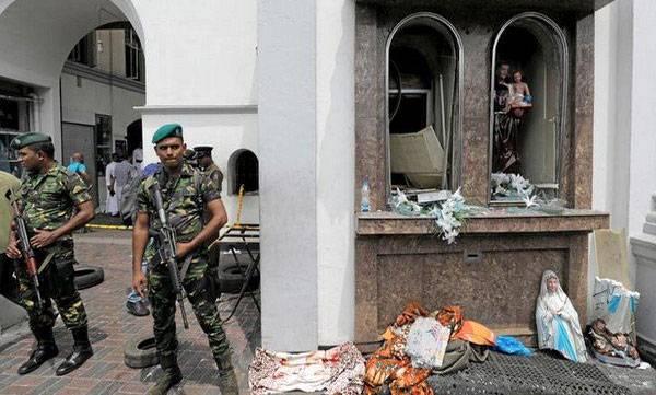 5 Indians,  290 Killed, Sri Lanka,Serial Blasts