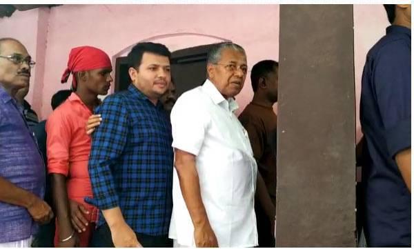 Kerala, Polling booth,