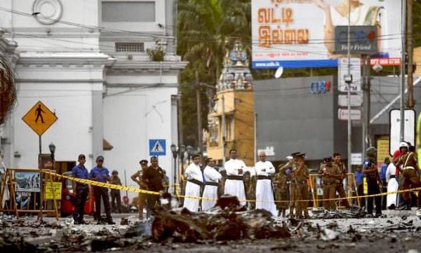 Sri Lankan Blast, Police