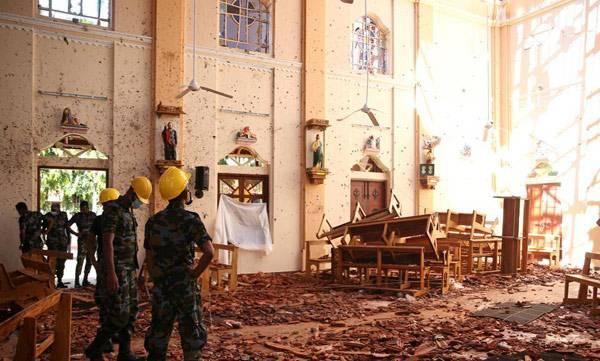 srilanka explosion