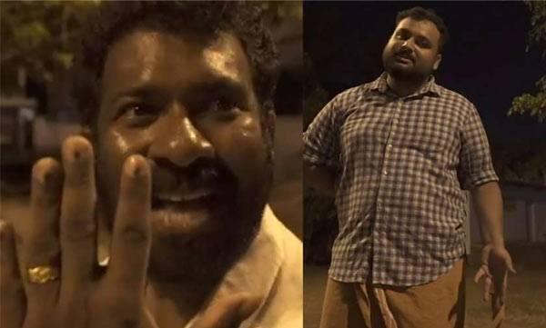 Team prahasanam, Short film, Lok Sabha election