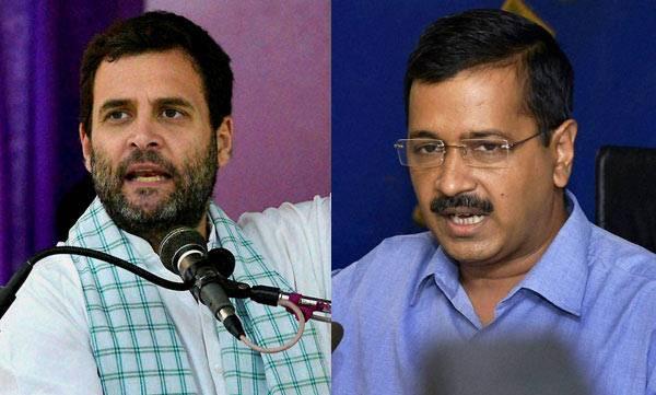 Aravind Kejriwal, Rahul Gandhi, Narendra Modi