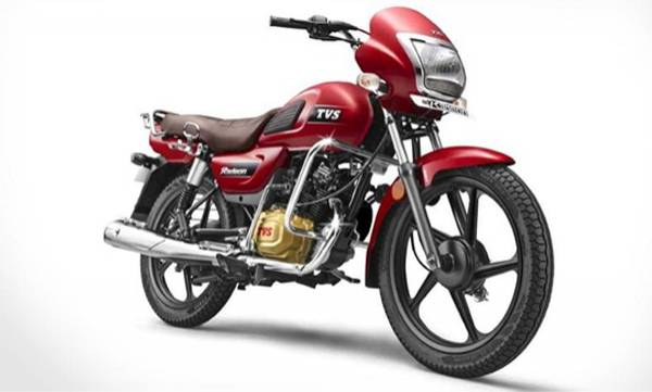 tvs radeon motorcycle gets 2 new colours
