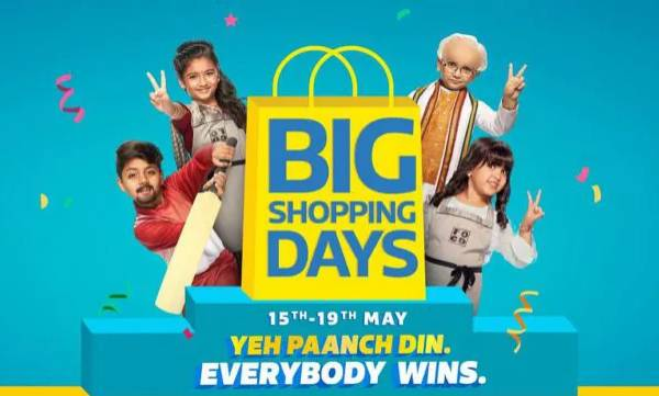 flipkarts big shopping days sale officially starts on may 15