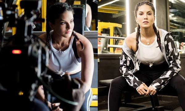 Sunny Leone ,Work out