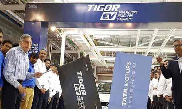 tata motors to supply tigor evs to aaron travels