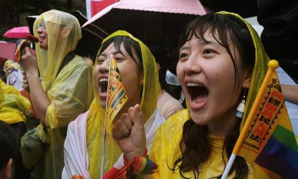 Taiwan, Legalize, Same-sex marriage