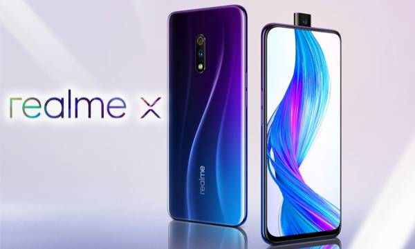 48 mp camera popup selfie realme x launched