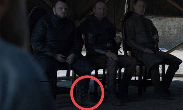 Game of Thrones Season 8 ,  Blooper