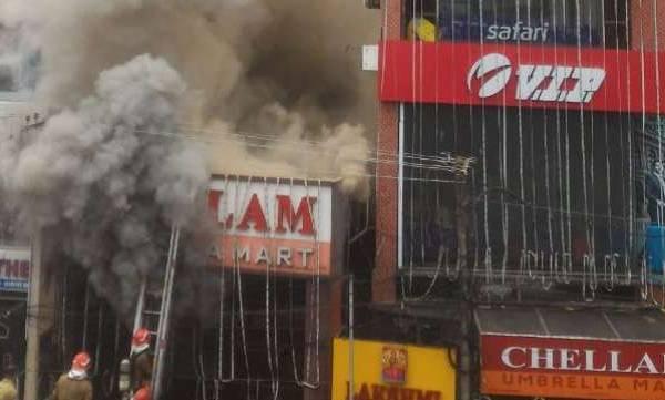 Major fire, Thiruvananthapuram