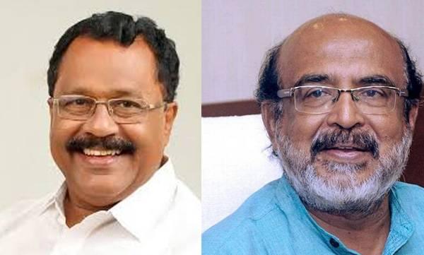 P S Sreedharan pillai , Minister Thomas isac , Defamation