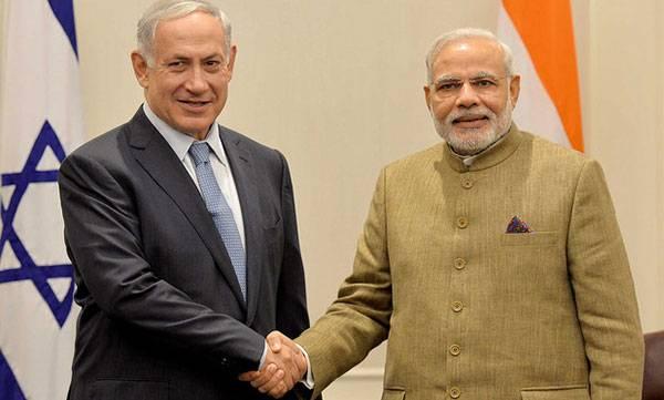 PM Narendra Modi, Benjamin Netanyahu