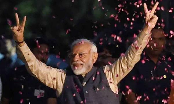 Modi, victory